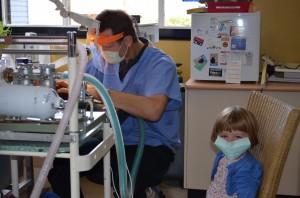 Dr-David-and-his-newest-assistant-Annabelle